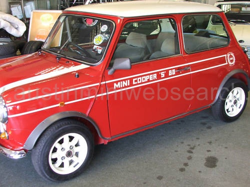 John cooper garage mini cooper s prototype 1988 for Garage mini cooper annemasse