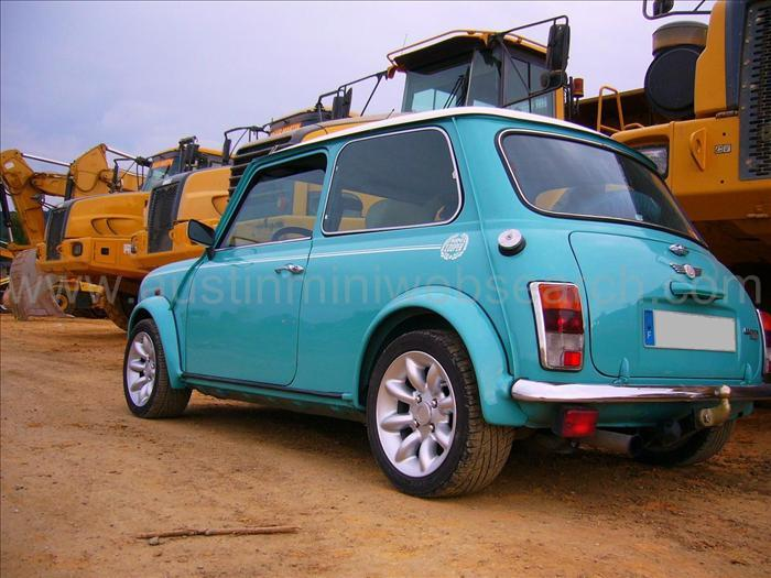 Electric Mini Cooper >> Austin mini color panel blue
