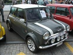 austin mini color panel grey